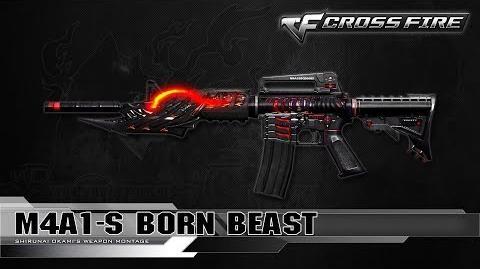 CrossFire China M4A1-S Born Beast ☆