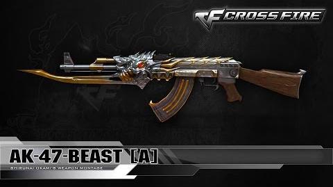CrossFire Indonesia AK-47-Beast A ☆