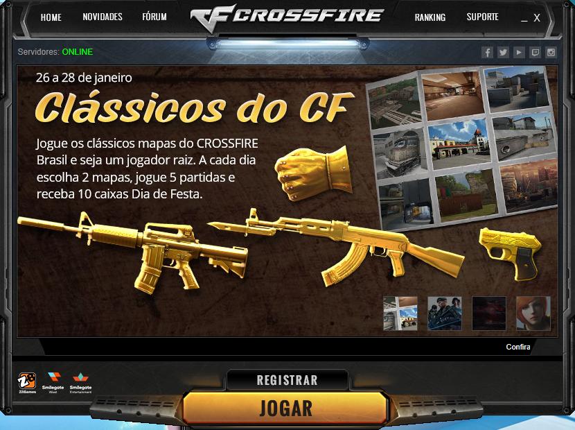 Crossfire BR Launcher