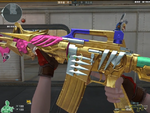 M4A1-S-Prism Beast Noble Gold