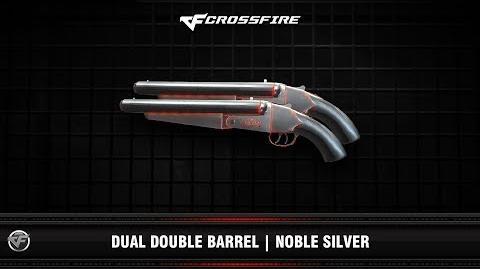 CF Dual Double Barrel Noble Silver