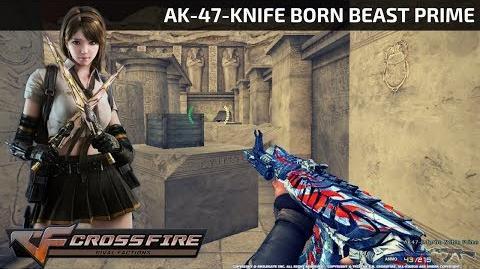 CrossFire Vietnam - AK-47-Knife Born Beast Prime