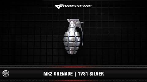 CF MK2 Grenade 1vs1 Silver (Beta)
