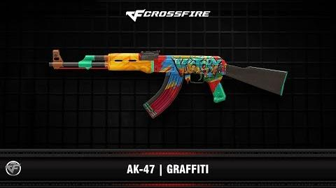 CF AK-47 Graffiti