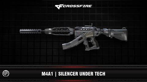 CF M4A1 Silencer Under Tech