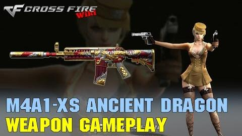 CrossFire - M4A1-XS Ancient Dragon - Weapon Gameplay