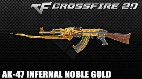 CrossFire Vietnam 2.0- AK-47 Beast Noble Gold ☆