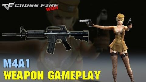 CrossFire - M4A1 - Weapon Gameplay