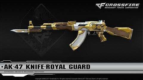 CrossFire China AK-47 Knife-Royal Guard (Upgrade System)