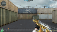 AK47 K BB NOBLE GOLD HUD NEW