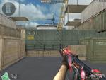 AK47 RED KNIFE BEAST HUD (1)