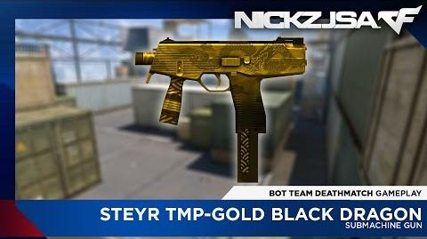 Steyr TMP-Change Dual-Gold Black Dragon - CROSSFIRE China 2