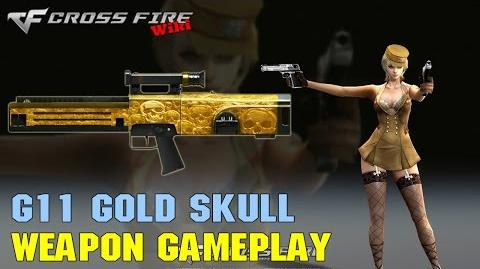 CrossFire - G11 Gold Skull - Weapon Gameplay