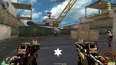 Cross Fire China Dual Kriss Super V-Rusty Gold Skull GamePlay!