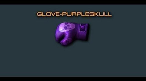 Cross Fire China Glove-Purple Skull Review!