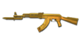 BI AK47 DMZ Gold