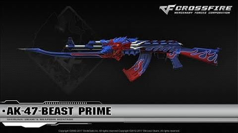 CrossFire China AK-47-Beast Prime