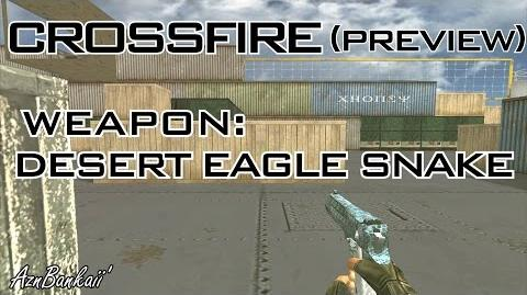 CrossFire Desert Eagle - Snake Preview & Comparison