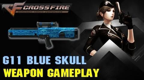 CrossFire VN - G11 Blue Skull