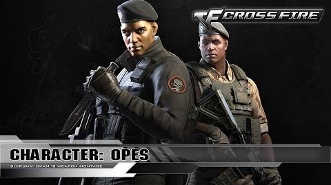 CrossFire Character OPES ☆