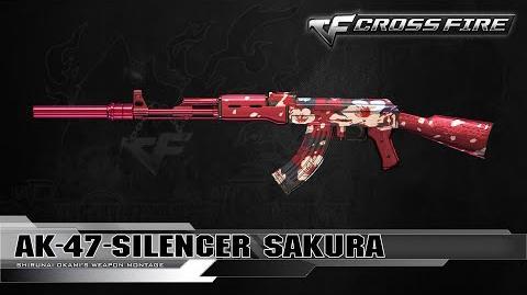 CrossFire Vietnam AK-47-S Sakura ☆