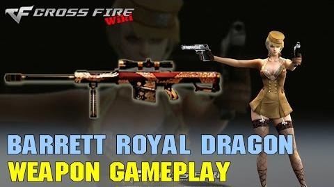 CrossFire - Barrett M82A1 Royal Dragon - Weapon Gameplay