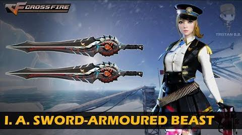 CrossFire Vietnam Invisible Assassin Sword-Armoured Beast VVIP Weapon