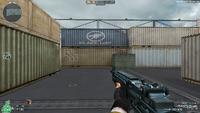 M14 EBR BLUE LIGHT HUD