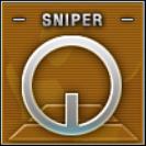 Sniper Badge Class B Level 3