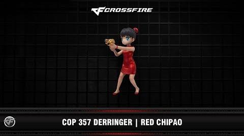 CF COP 357 Derringer Red Chipao