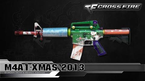 CrossFire Vietnam M4A1-Xmas 2013 ☆