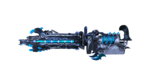 GATLING GUN-WILD SHOT ABYSS BLUE