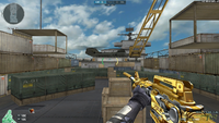 M4A1 S TRANS NOBLE GOLD HUD
