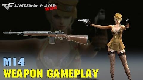 CrossFire - M14 - Weapon Gameplay