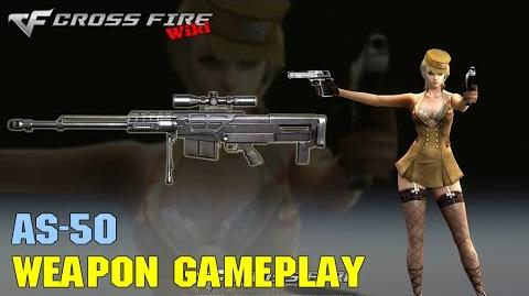 CrossFire - AS50 - Weapon Gameplay