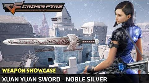 CrossFire China - Xuan Yuan Sword - Noble Silver (Showcase)