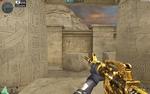 M4A1 S GOLD BLACK DRAGON HUD