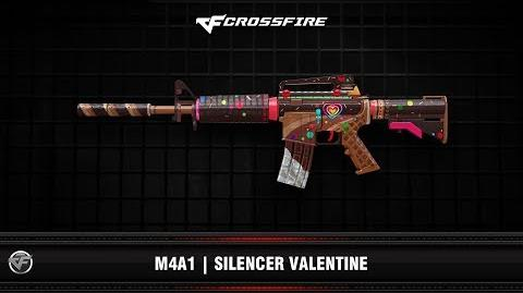 CF M4A1 Silencer Valentine 2019