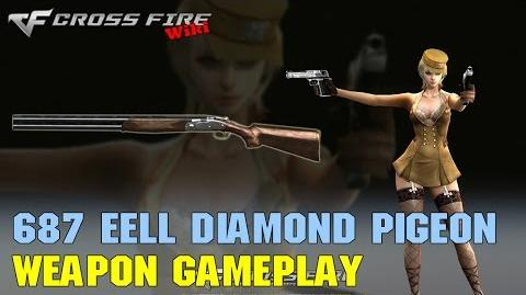 CrossFire - 687 EELL Diamond Pigeon - Weapon Gameplay