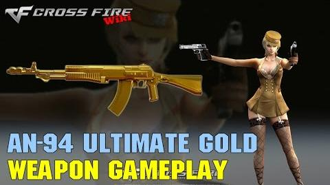 CrossFire - AN-94 Ultimate Gold - Weapon Gameplay