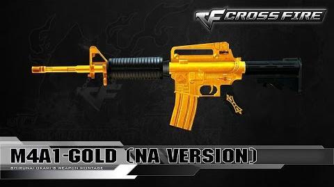 CrossFire North America - M4A1-Gold (NA Version) ☆