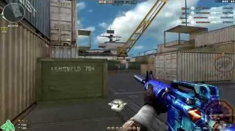 Cross Fire China M4A1-S Blue Diamond GamePlay!