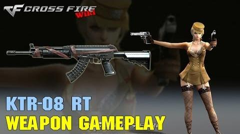 CrossFire - KTR-08 RT - Weapon Gameplay