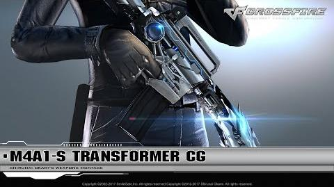 CrossFire Promotion M4A1-S Transformer (CG)