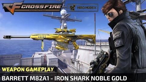 CrossFire - Barrett M82A1 - Iron Shark Noble Gold