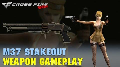 CrossFire - M37 Stakeout - Weapon Gameplay