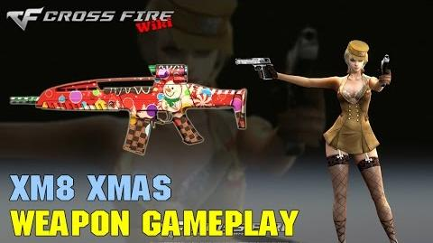CrossFire - XM8 Xmas - Weapon Gameplay