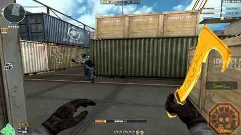 Cross Fire China Machete-Ultimate GoldSmith GamePlay!