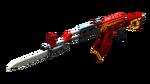 AK47 KNIFE RED DRAGON RD2
