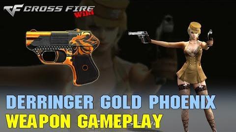 CrossFire - COP 357 Derringer-Gold Phoenix - Weapon Gameplay